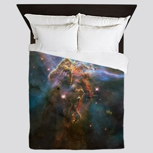Carina Nebula by Hubble/STScI Queen Duvet